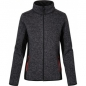 Damen Workwear Strickfleece Jacke